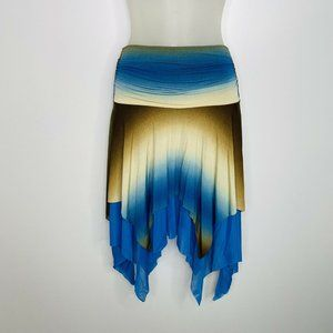 Joyce Leslie Skirt Small Colorful Ombre